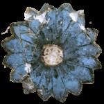 Minoan flower. Santorini Prehistoric Museum Fira
