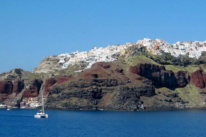 Santorini Catamaran charter