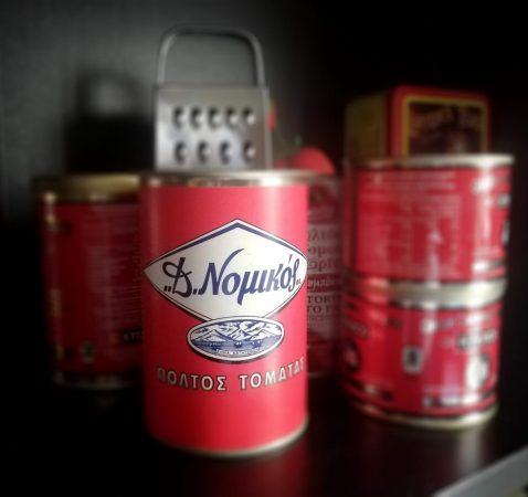 Nomikos Santorini Tomato Paste Can