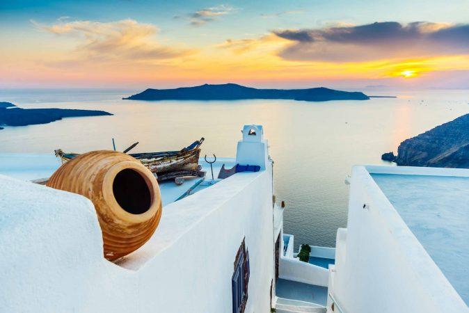 Santorini Landscape Photography